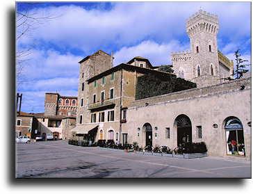 San Casciano dei Bagni - The town of San Casciano dei Bagni